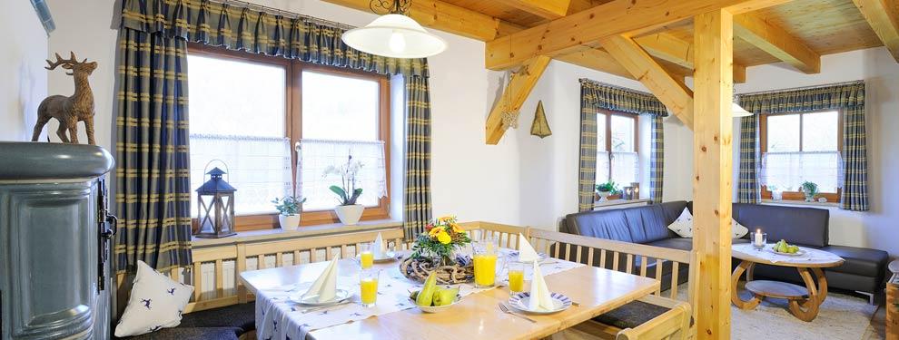 5-Sterne Ferienhaus Ferienhof Schmidtner drei Schlafzimmer Urlaub ...